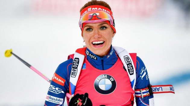 Габриела Коукалова - чемпионка мира в спринте